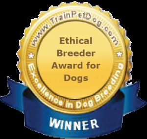 Ethical Breeder Award for Dogs